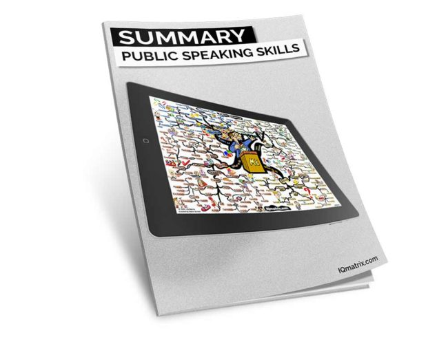 Public Speaking Skills Summary