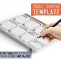 Win Friends and Influence People Visual Thinking Template