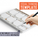 Attracting Money Visual Thinking Template