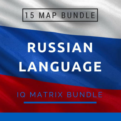 Russian Language IQ Matrix