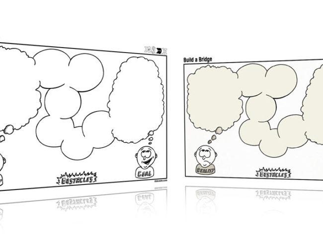 Build a Bridge Visual Thinking Template