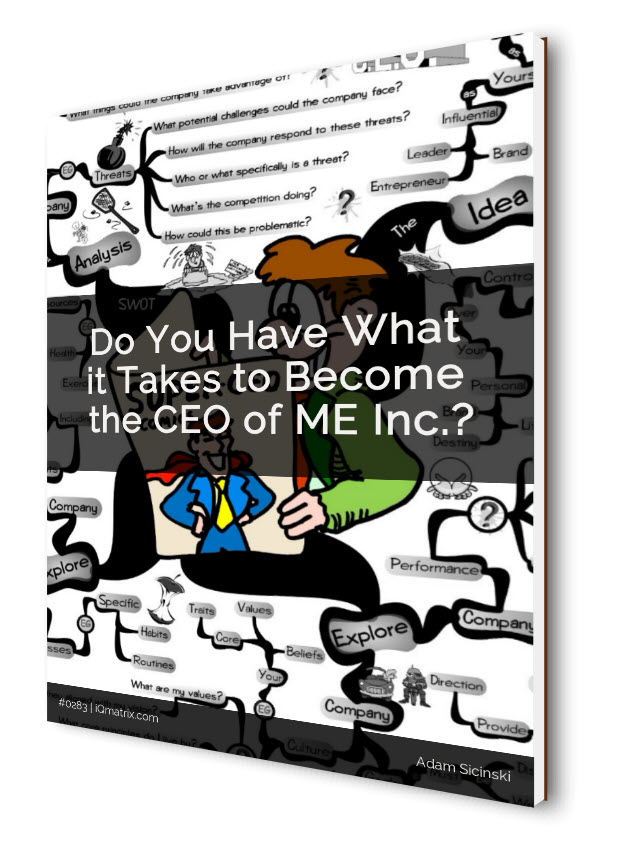 The CEO of Me Inc eBook