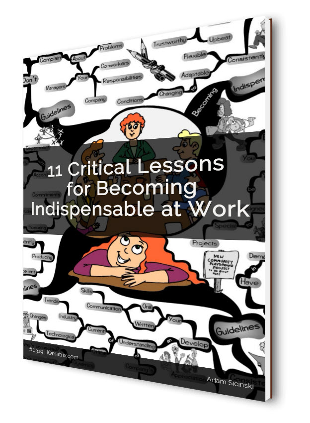 Becoming Indispensable at Work eBook