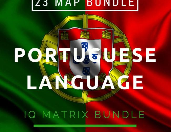 Portuguese Language IQ Matrix